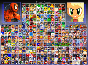 add Mugen characters
